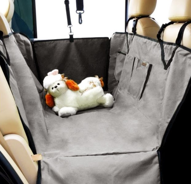 dog seat covers Waterproof Hammock Grey