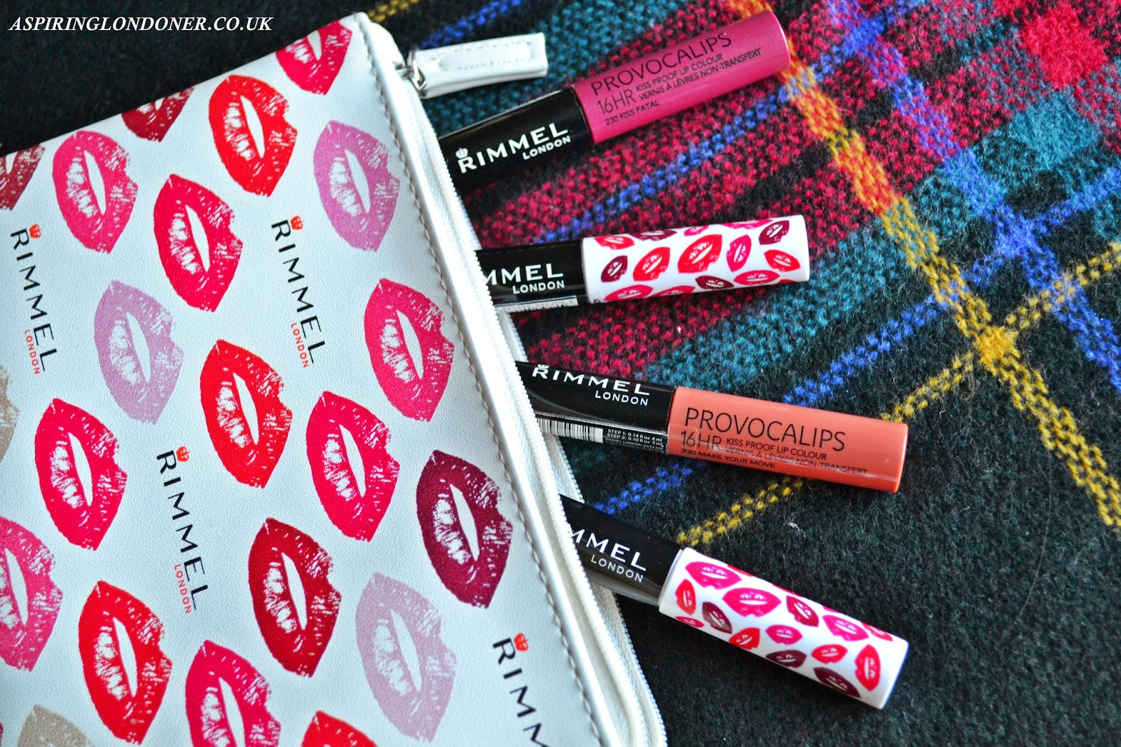 Rimmel Provocalips 16hr Kissproof Lip Colour Review - Aspiring Londoner
