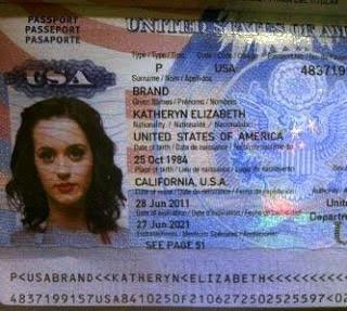 Katy Perry Marah Gara-Gara Foto Paspor-nya Beredar Di Twitter