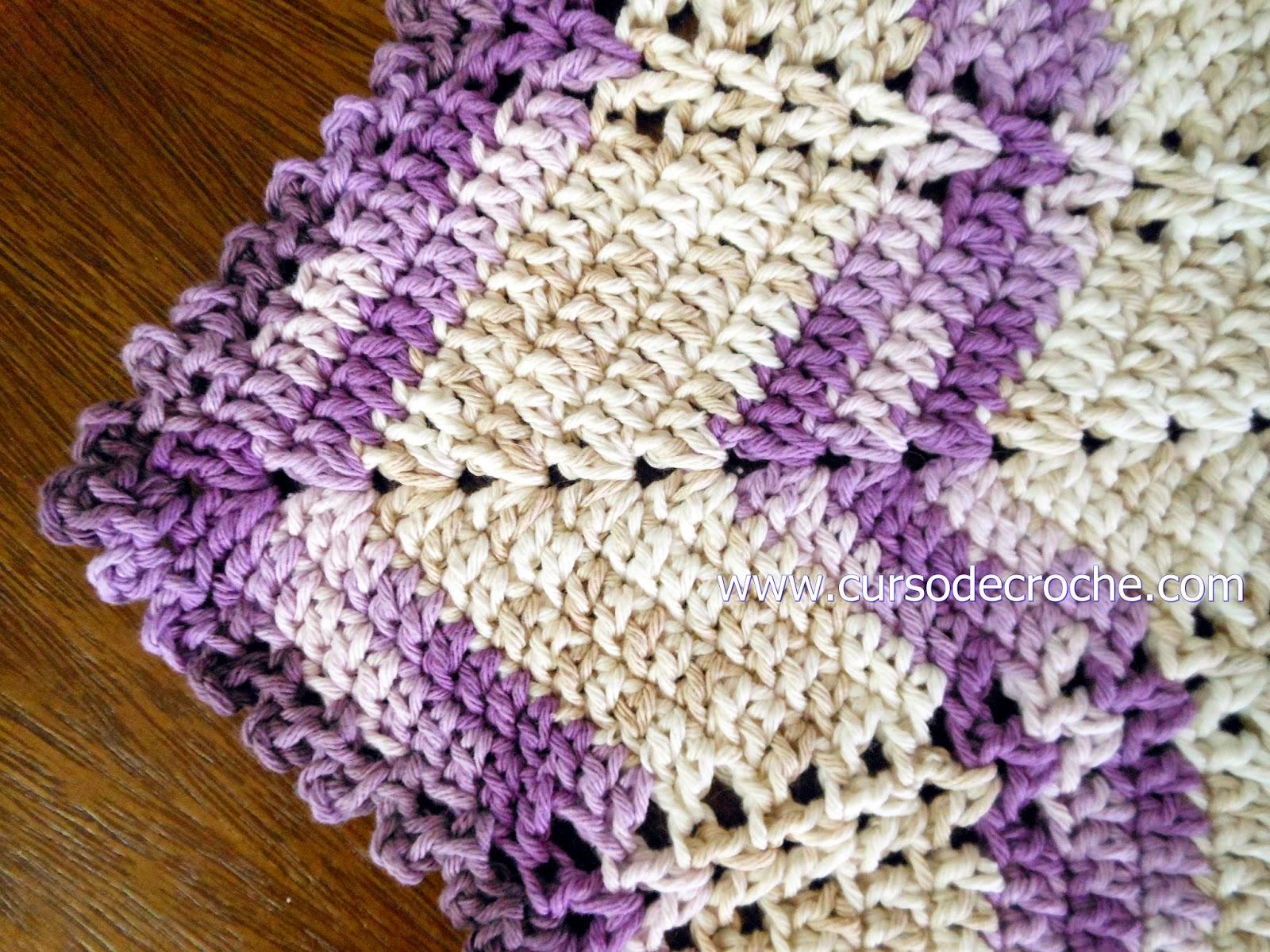 tapetes em croche disponiveis para venda na loja curso de croche
