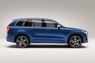 Volvo XC90 R-Design (2015) Side