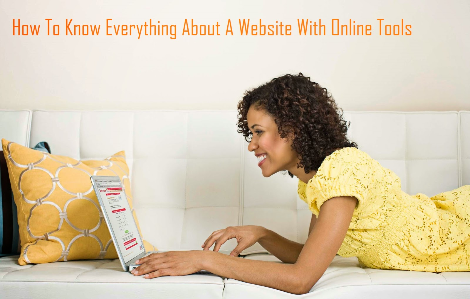 How To Know Everything About A Website With Online Tools