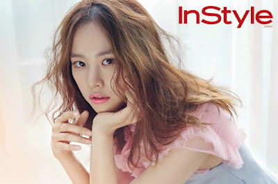 Jo Yoon Hee InStyle January 2016