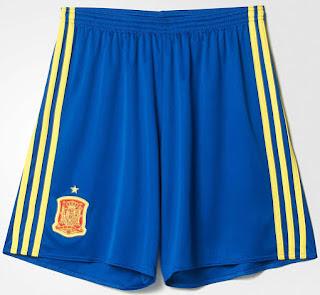Celana bola Spanyol home terbaru musim euro 2016 di enkosa sport toko online terbaru musi depan enkosa sport