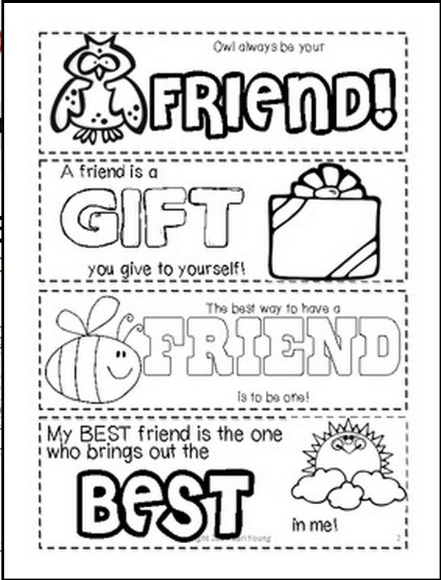 Invaluable image regarding free printable friendship cards