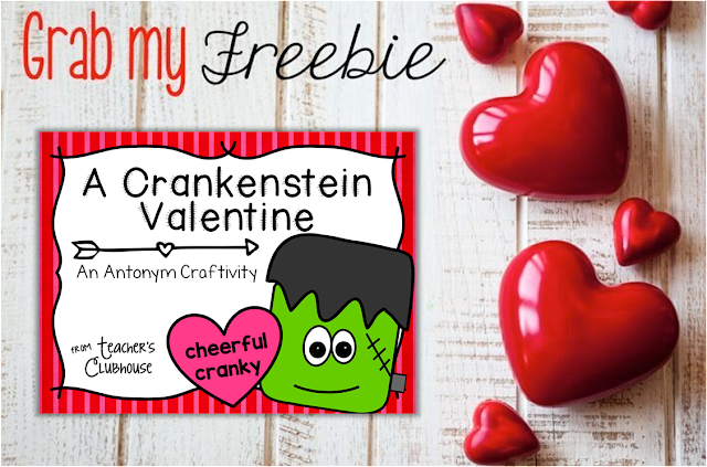 https://www.teacherspayteachers.com/Product/A-Crankenstein-Valentine-with-Antonyms-2308842