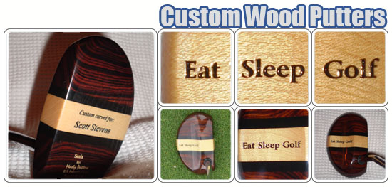 Custom Wood Putters