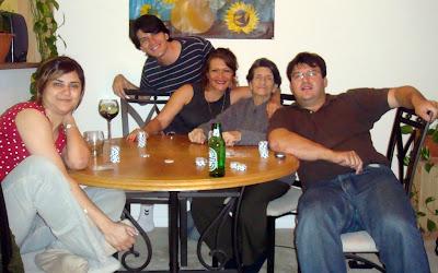 Rosangela Ferreira, Ricardo Astrauskas, Monica Astrauskas y Andrew Astrauskas