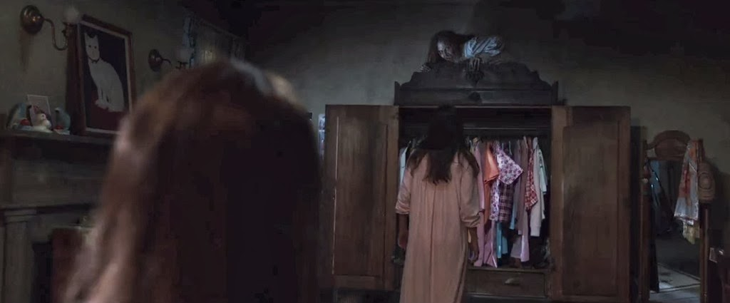 The Conjuring Witch On Wardrobe