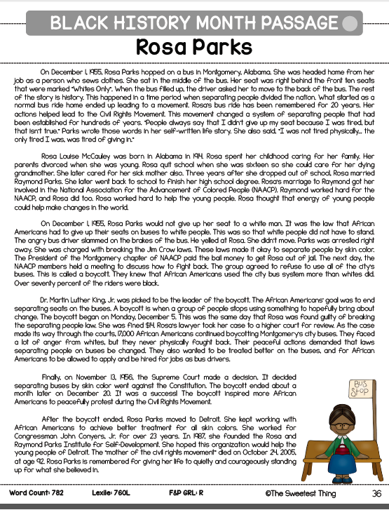 https://www.teacherspayteachers.com/Product/Black-History-Month-Close-Reading-Leveled-Social-Studies-Integration-1633498