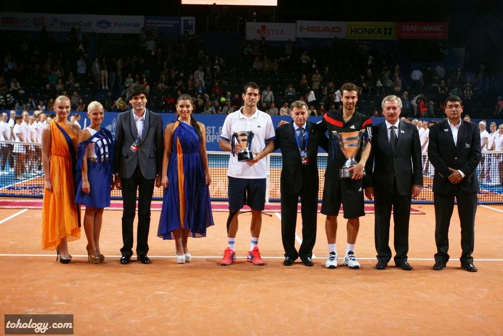 Garcia-Lopez, Guillermo (ESP), finalist, singles & Gulbis, Ernests (LAT), winner, singles