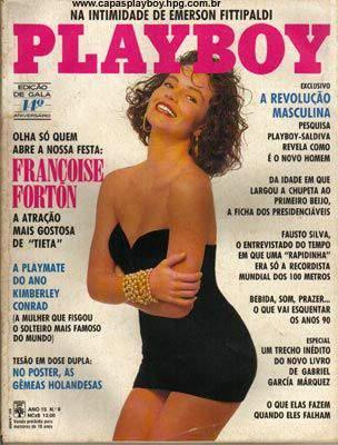Françoise Forton - Playboy 1989
