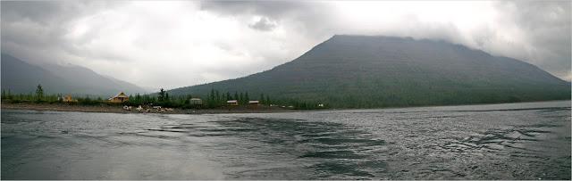Озеро Лама. Турбаза ООО «Норильскникельремонт» (ННР) «Лама».