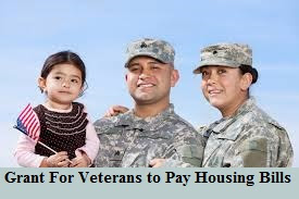 Grant For Veterans to Pay Housing Bills