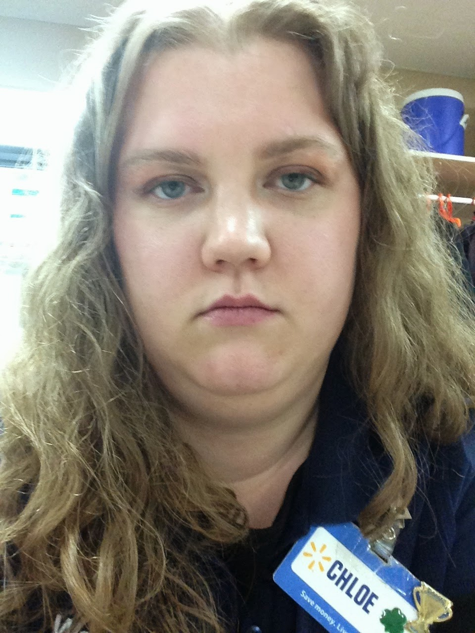 Resting Bitch Face at Walmart