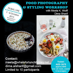 Food Photography & Styling Workshop 2015 #FotoDubai15