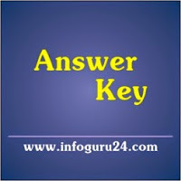 InfoGuru24.com...Provisional Answer Key - Kheti Madadnish Exam Dt.06-12-2015