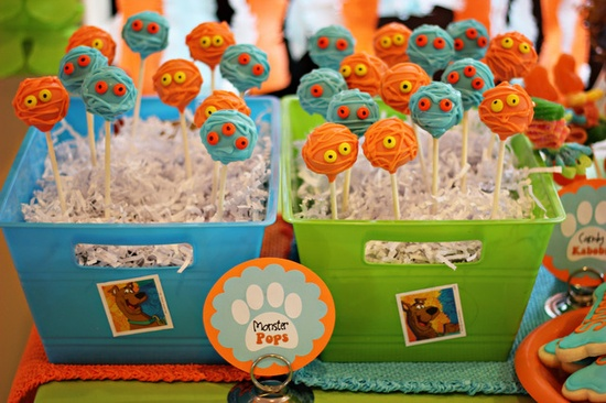 Decoraci n de fiestas infantiles de scooby doo arcos con - Decoracion para fiestas de cumpleanos infantiles ...