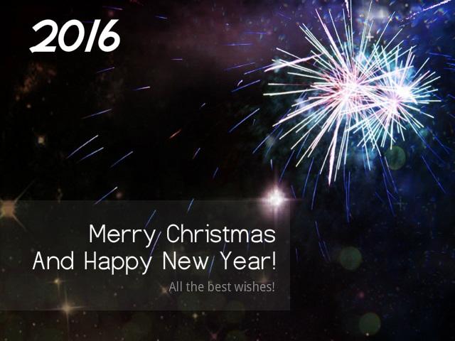 Membuat Ucapan Natal dan Tahun Baru Dengan Foto Editor Online