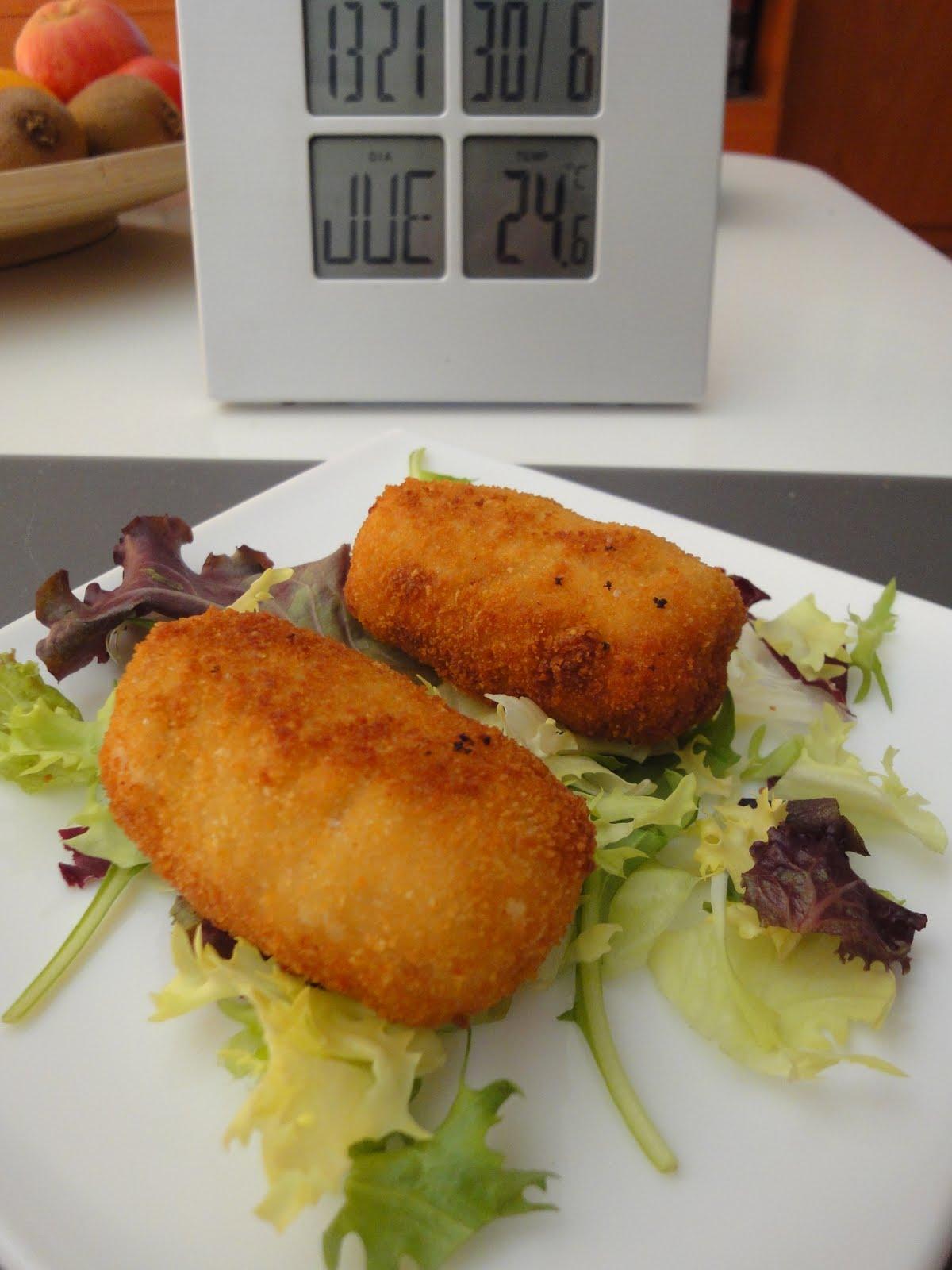Clases de cocina zaragoza croquetas de pollo y jam n - Cursos de cocina zaragoza ...