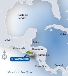 El Salvador mide 10.742 Kilómetros cuadrados.