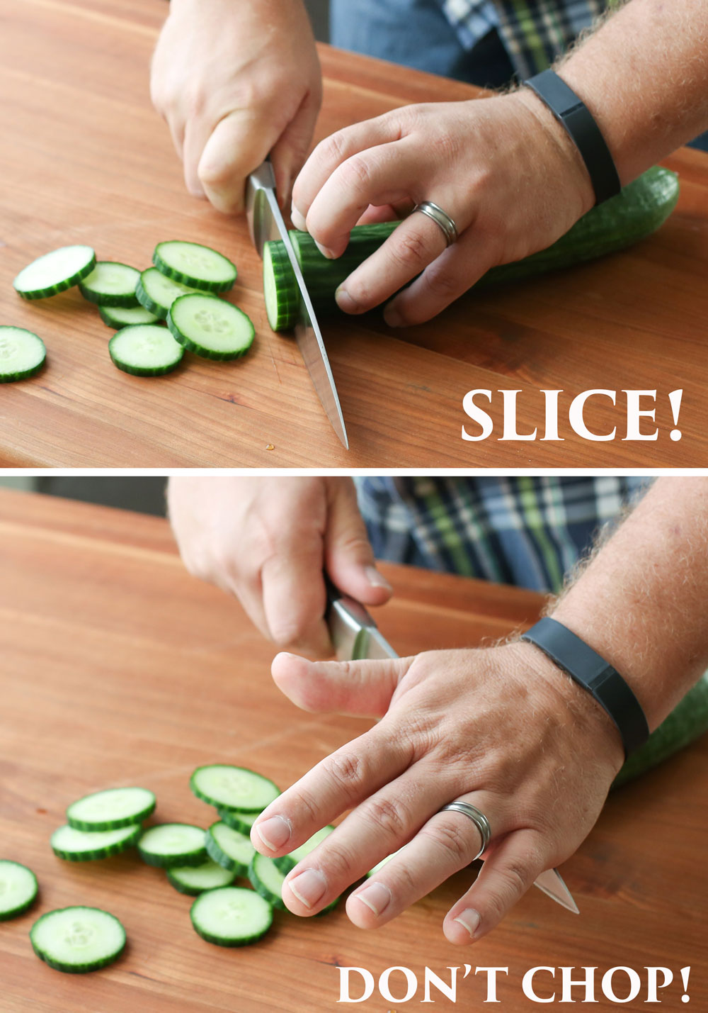 Kitchen Knife Skills Tips from Barefeet In The Kitchen