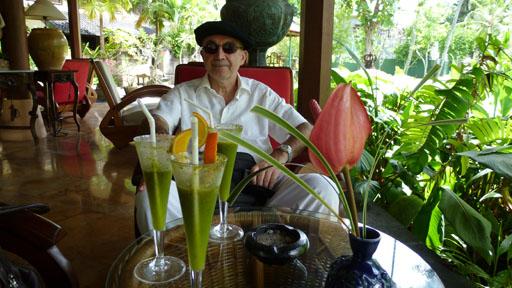 En el hotel Segara Village de Bali