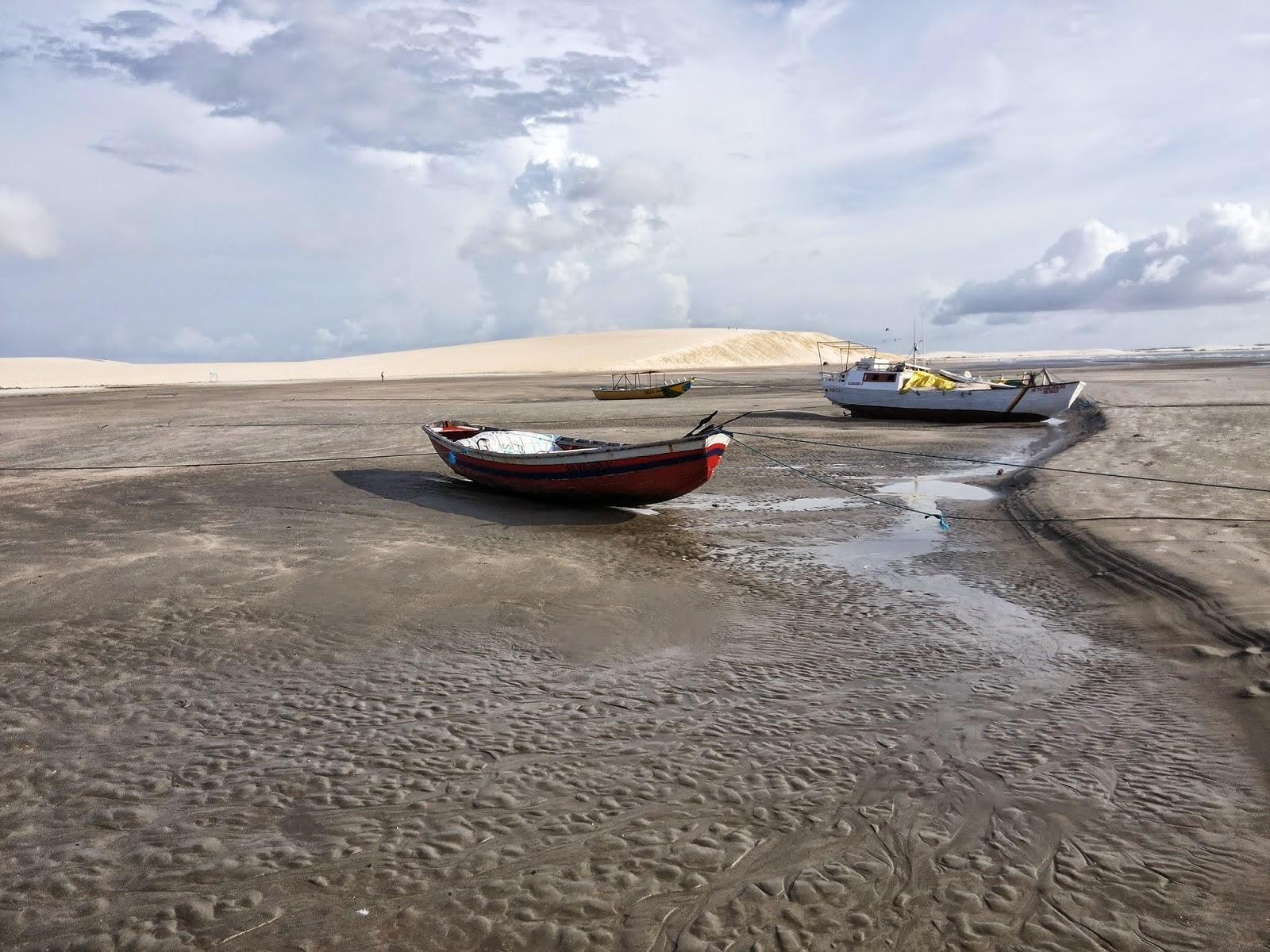 Para onde vai a água do mar quando a maré seca?