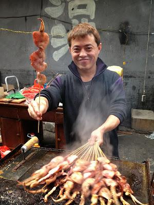 A Muslim Market in China