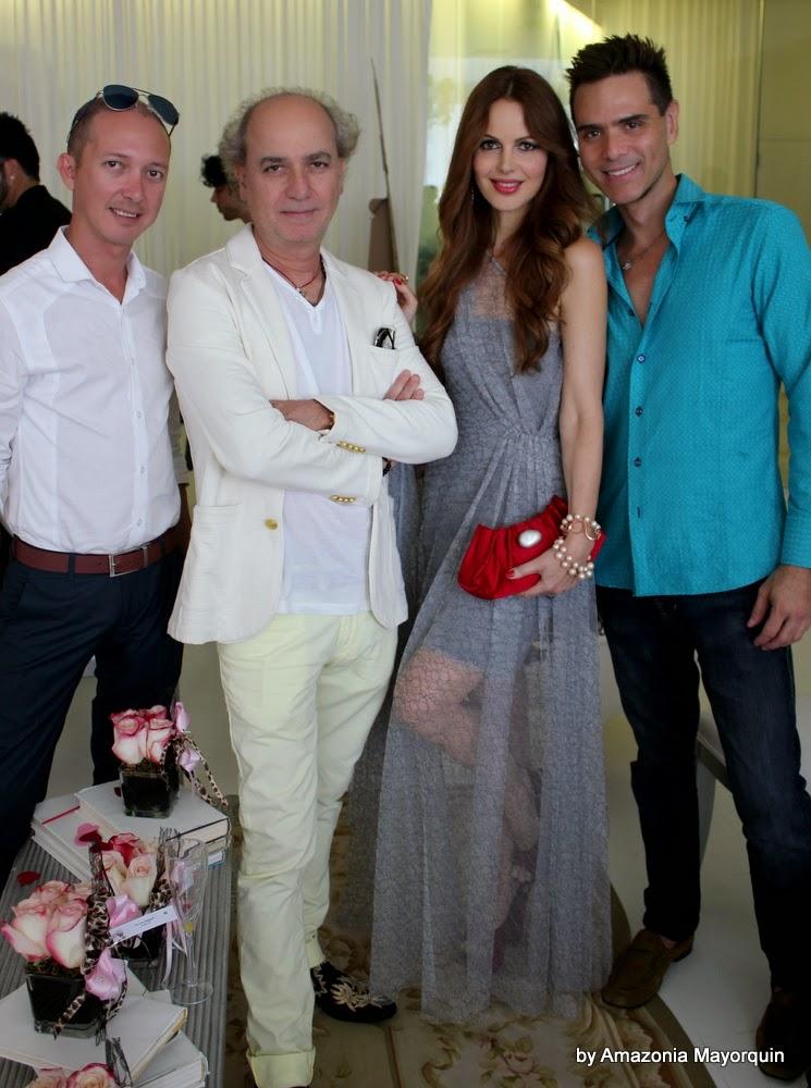 Jonathan Torres, Eduardo Marturet, Athina Klioumi Marturet and Julien Rego.