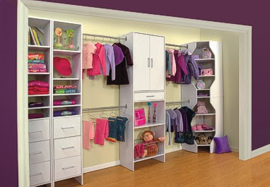 Closets para dormitorios juveniles walk in closets para for Closet juveniles modernos