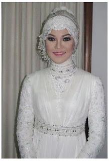 Kumpulan Gambar Hijab Modern Untuk Akad Nikah