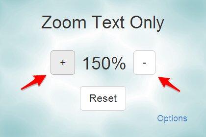 打造舒適閱讀體驗__讓 Chrome 只放大縮小文字(Zoom Text Only 套件)