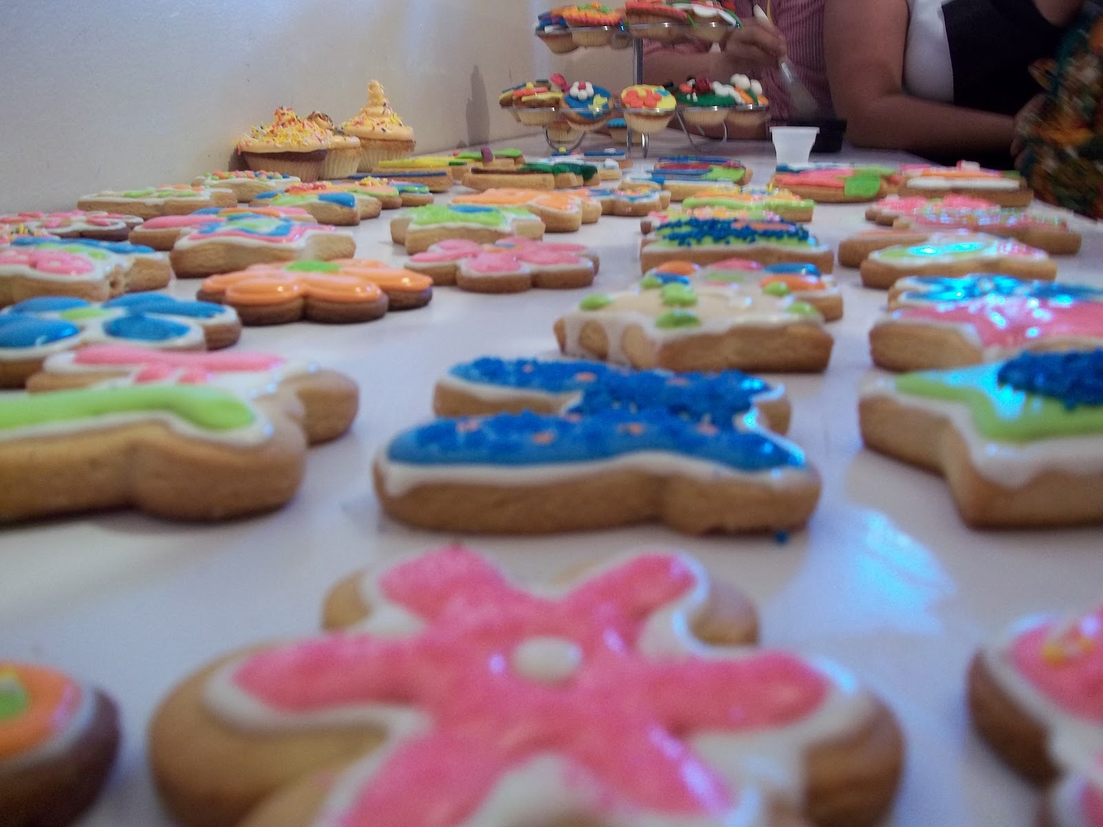 CURSO DE GALLETAS Y PONQUECITOS DECORADOS