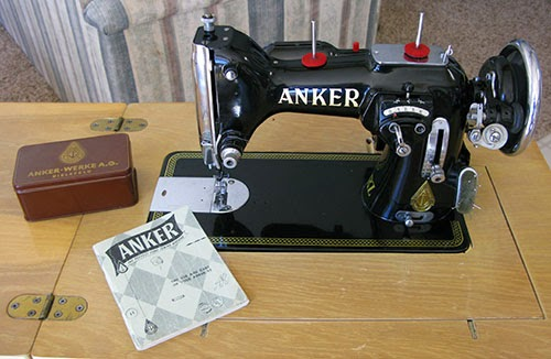 Anker Sewing machine at Freemotion by the River