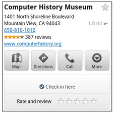 Google Maps 5.5 Android app eases Check-ins and rating places
