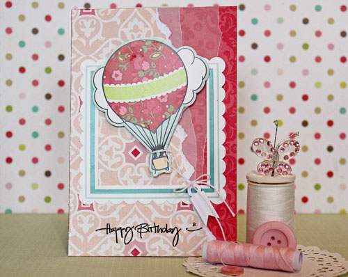 Liliths Scrapbooking Venture Birthday Card