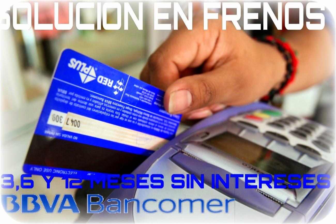 Tarjeta de Crédito Bancomer Meses Sin Intereses