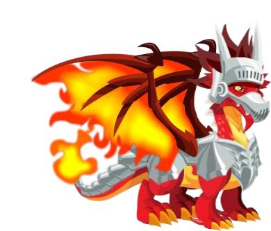 dragão passáro de fogo + dragão de pérola= dragão medieval