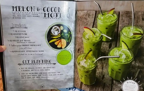 Melon and Coconut Mojito recipe