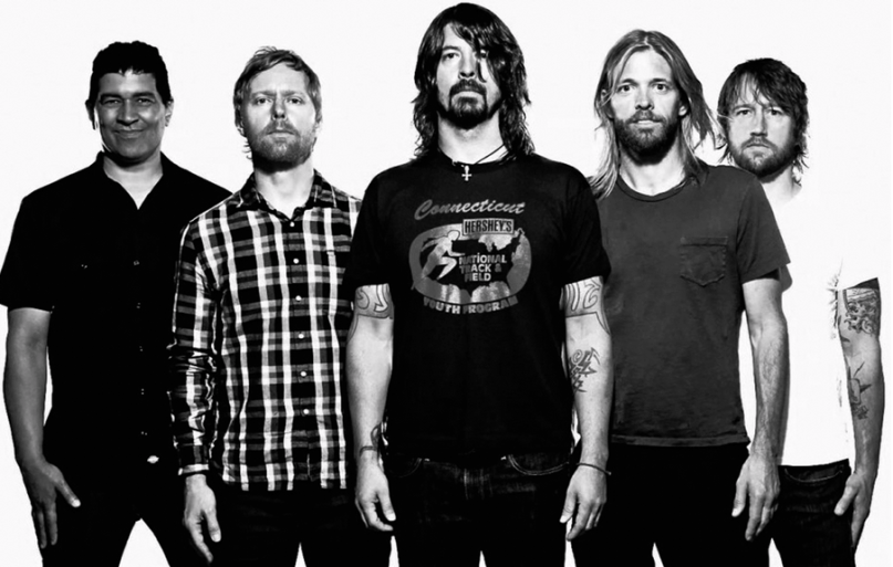 foo fighters and dave