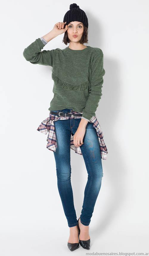 Looks invierno 2014 moda mujer Yagmour.