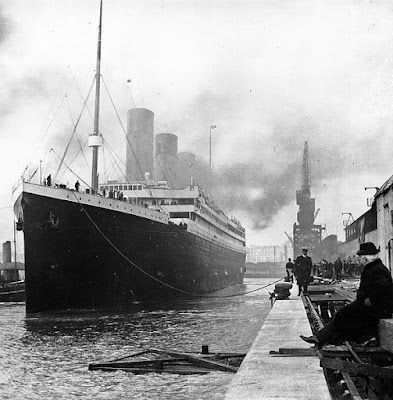 RMS Titanic leaving Southampton, 10 April 1912 - Travel Europe Guide | Titanic 100th anniversary