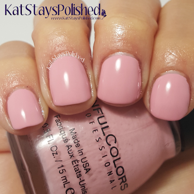 SinfulColors - A Class Act - Pink Break | Kat Stays Polished