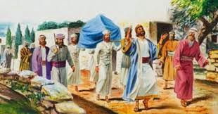 DAVI CONDUZ A ARCA PARA JERUSALÉM
