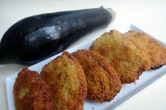Berenjenas con pan rallado