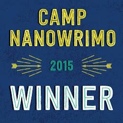Camp NaNo Winner!