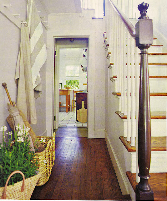Loft Entryway Ideas: Loft & Cottage: From The Idea Book: Entries, Stairs & Details