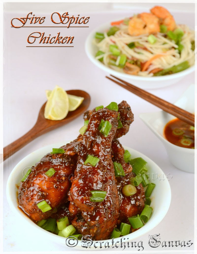 Baked Chinese Five Spice Chicken