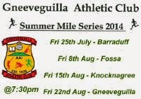 Fri 22nd Aug - 1 mile race in Knocknagree, NW Cork